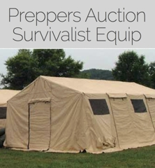 M20273 HDT Expeditionary Systems has relocated to its newmanufacturing facility and will sell the excess tents equipment trailers machinery and warehouse ... & CLOSING TODAY Preppers Military Doomsday Excess Assets Auction ...