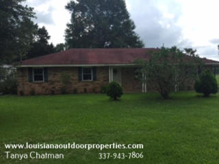 4 bd/1 ba House and 2 Acres For Sale in Avoyelles Parish