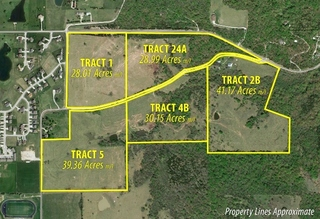 GONE! NO RESERVE MULTI-PARCEL LAND & HOME AUCTION  -  BALDWIN CITY, KS -  UNINCORPORATED DOUGLAS COUNTY - (MARGARET COUNTS TRUST)