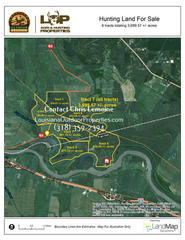3699.57 +/- acres of hunting land for sale in Grant/Rapides Parish