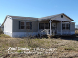 4 bed 2 bath modular home and 2 acres for sale in Cottonort, LA