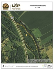 28 +/- acres of land for sale in Lecompte, LA
