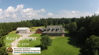 2 BED 2 BATH HOME AND 19 +/- ACRES FOR SALE IN RAPIDES PARISH