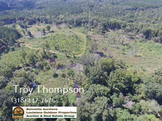 120 acres of land and a camp for sale in Caldwell Parish