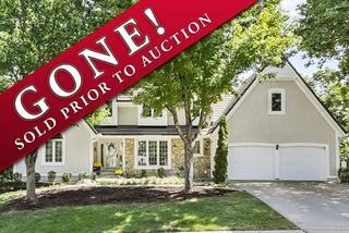 GONE! Downsizing Auction:  Rare Nottingham Downs 1.5 Story, 4 Bedroom Home   Overland Park, Kansas - For Sale at Auction