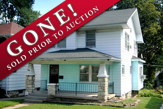 GONE! Online Investment Property Auction #1: 3 Bedroom Home with NO Minimum.