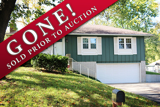 GONE! Absolute Owner Ordered Auction: 3 Bedroom Home   Raytown, MO