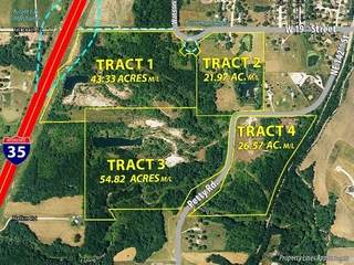 GONE! Land Auction - 146 Acres m/l Offered in 4 Tracts from 21 to 54 Acres m/l- Kearney, Clay County, Missouri