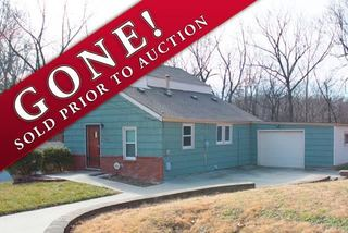 SOLD! No Reserve Online Auction: Two Bedroom Home   Kansas City North