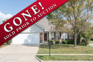 GONE! Newer 3 Bedroom, 2 Bath True Ranch | Liberty, MO | For Sale at Auction