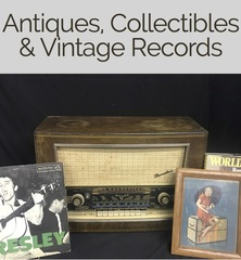 Antiques,Collectibles & Vintage Records